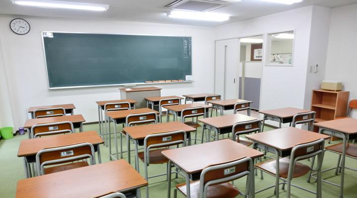 伯耆学園 教室